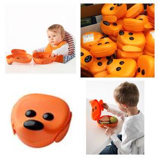 DOGランチボックス犬DOG/ランチBOX/新品/IKEA