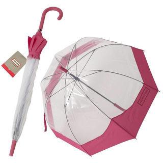 ハンター HUNTER バブル アンブレラ ビニール傘 長傘