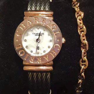 CHARRIOL レディースブレスレット腕時計