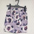 花柄タイトスカート
