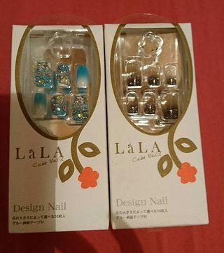 LaLaネイル好きなの三点¥1000-