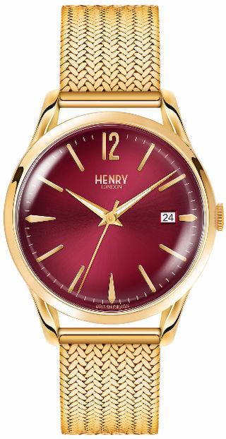 【大人気】ヘンリーロンドン ユニセックス時計