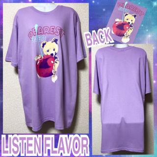 【新品/LISTEN FLAVOR】チェリーベアTシャツ