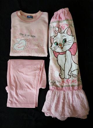 ディズニーマリー パジャマ&ラップタオル セット
