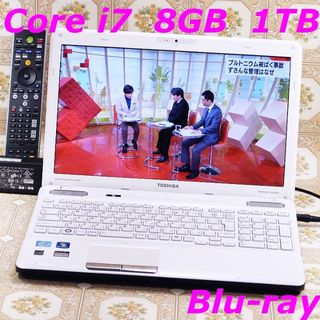 最強フルセグ Core-i7/8GB/1TB/Blu-ray