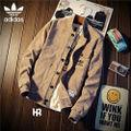 Adidas男性用ジャケット 秋冬アウター パーカー