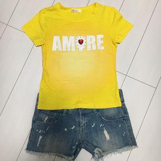 【新品未使用】Ra Iride イエロー Tシャツ