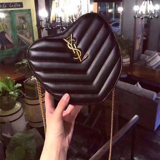 ハート型 サンローラン ハンドバッグ