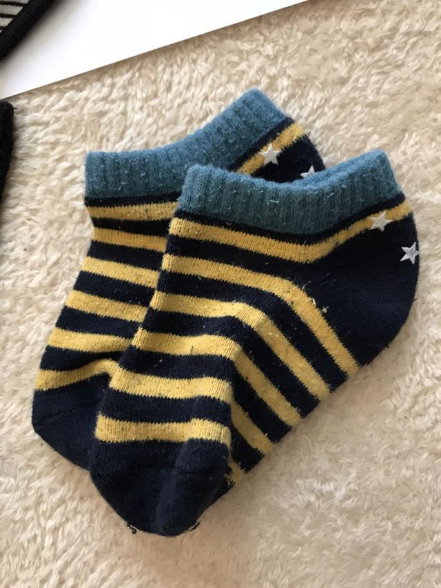 コムサのよだれかけ 靴下9~14サイズ2つセット