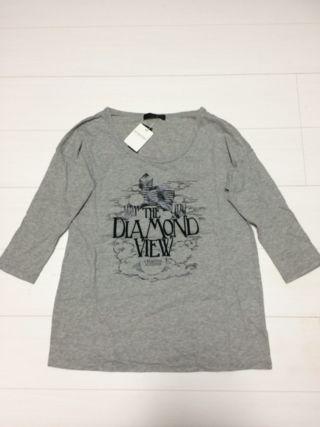 JEANASISロゴ刺繍Tシャツ