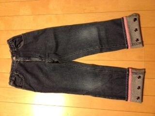 110☆ポンポネット☆ジーンズ