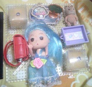 画像全て玩具SET計8点人形1体含めお得
