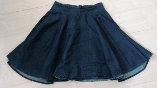 デニムスカート ミニスカート RETRO GIRL