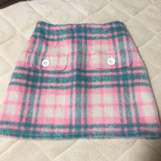 ワンスポ チェック スカート