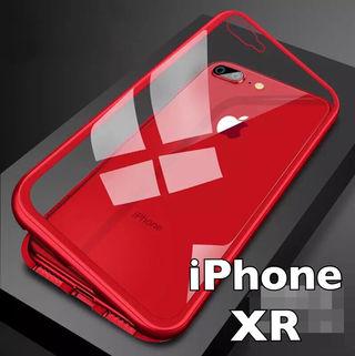 日本初上陸!iPhone xrケース マグネット レッド