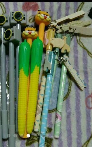 ボールペン 鉛筆