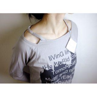 AGOST SHOP長袖Tシャツ・新品タグ付き