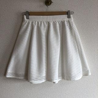 未着用 EASTBOY ホワイトスカート