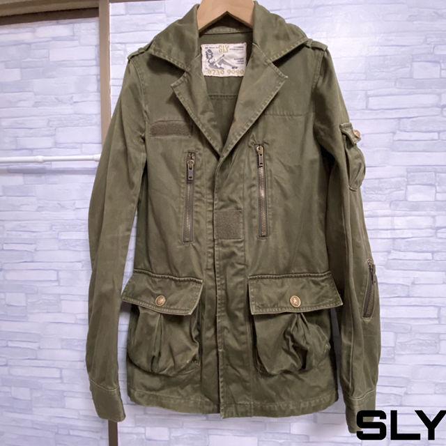 SLY ミリタリージャケット(SLY(スライ) ) - フリマアプリ&サイトShoppies[ショッピーズ]