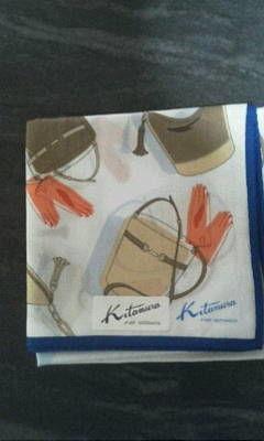 キタムラ バッグ柄 大判ハンカチ(KitamuraK2(キタムラ) ) - フリマアプリ&サイトShoppies[ショッピーズ]