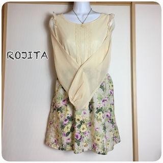 ROJITA/シフォンワンピース