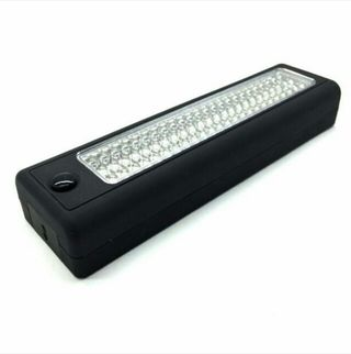 LEDワークライト 点灯 キャンプや作業に最適 黒