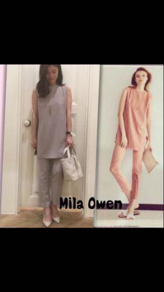 Mila Owenロングトップスセットアップ