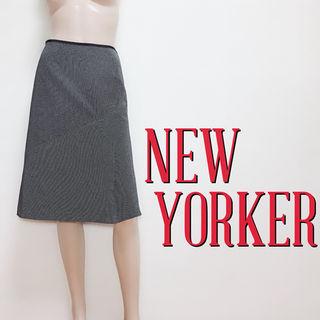 試着のみニューヨーカー お出かけジップスカート