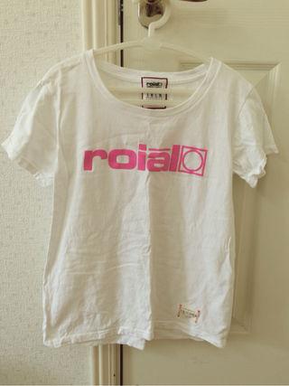 roial白Tシャツ