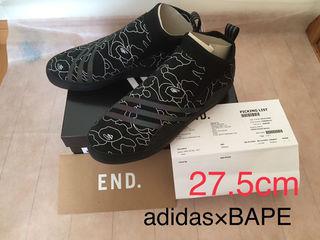 最終値下げ【adidas×BAPE】27.5cm