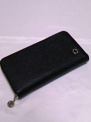 ビーゼロジッピー長財布ブラック