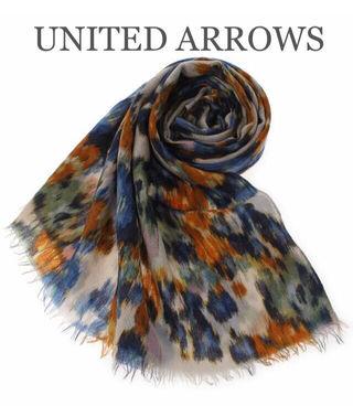 UNITED ARROWS【新品同様】総柄ストール