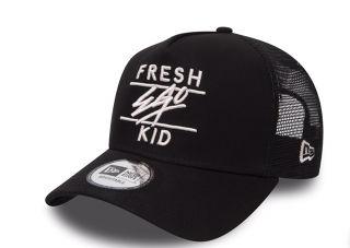 NEW ERA キャップ fresh ego kidブラック