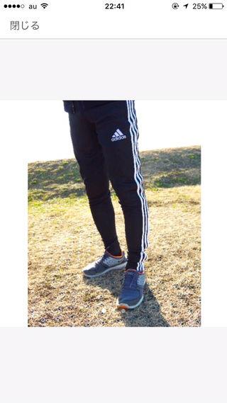 adidasスキニーパンツ xs