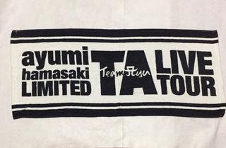 浜崎あゆみ ライブツアー  タオル