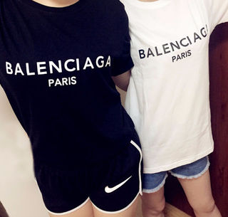 BALENCIAGA 2019夏新作 男女兼用Tシャツ