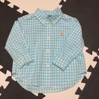 美品!ラルフローレン ギンガムチェックシャツ 80cm