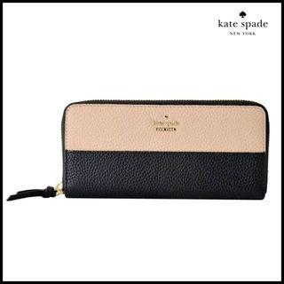 ケイトスペードPWRU6517 ラウンドファスナー長財布
