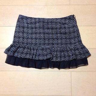 新品ツイードスカート