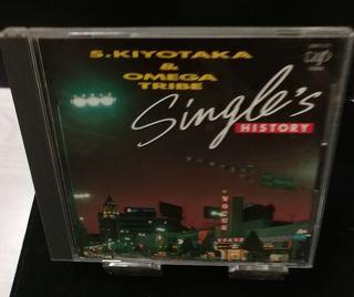 杉山清貴&オメガトライブ シングルスヒストリー 送料無料