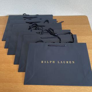 【未使用品】RALPH LAURENショップ袋(紙袋)6枚