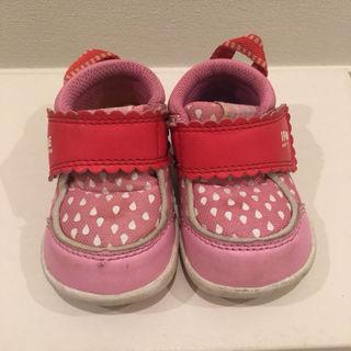 イフミー  12cm ピンク 赤 女の子 ベビー 靴