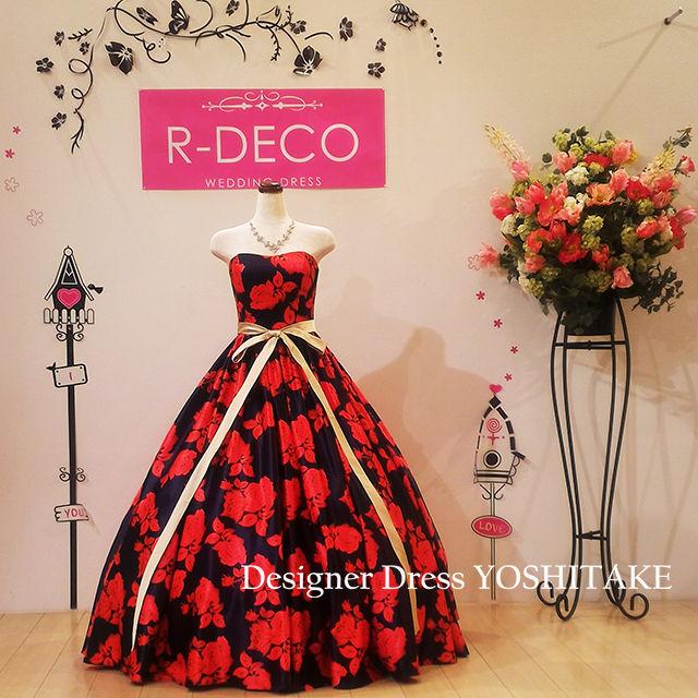 ウエディングドレス 花柄ドレス/披露宴/二次会 - フリマアプリ&サイトShoppies[ショッピーズ]