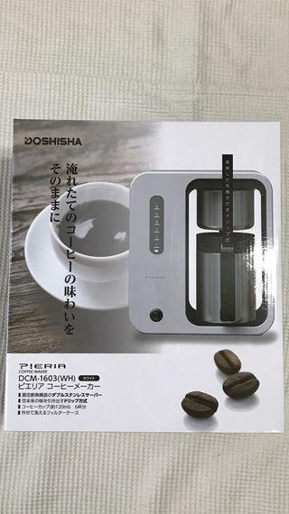新品未開封/DOSHISHA ドウシシャ コーヒーメーカー