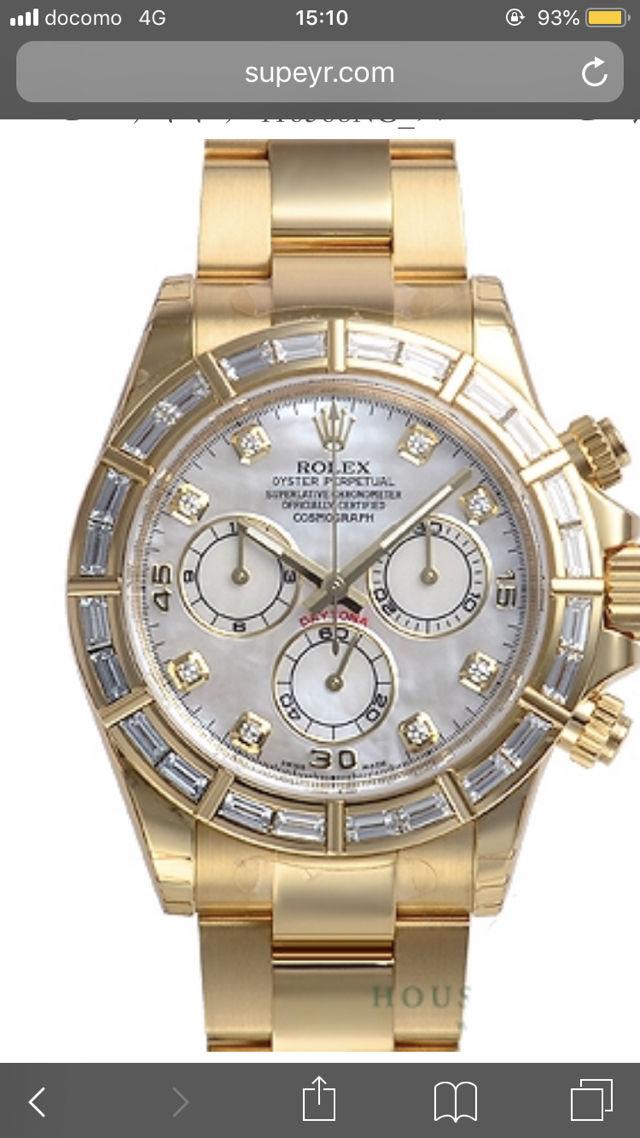 ロレックス 時計 探しています
