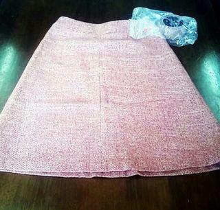 サイズ36 インディヴィ スカート ベルト付き