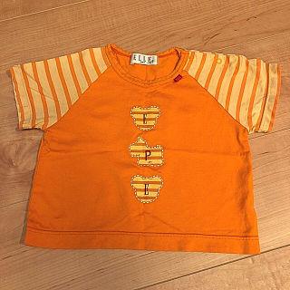 【90cm】ELLE Tシャツ トップス エル キッズ