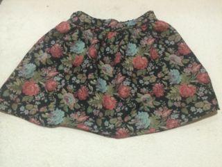 花柄*スカート