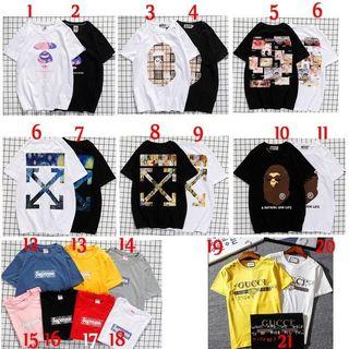 2点7132  国内発送 人気Tシャツ 男女兼用FU58