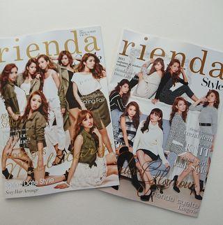 送込リエンダrienda Style 2015 カタログ